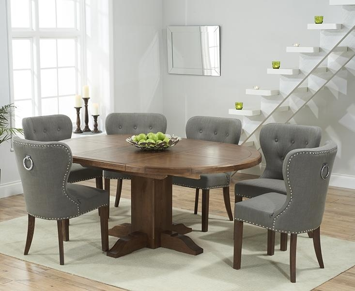 20 Collection Of Round Oak Extendable Dining Tables And