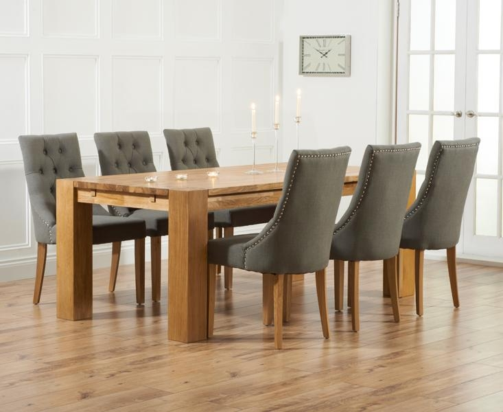 20+ Dining Tables And Fabric Chairs