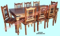 Top 20 Indian Wood Dining Tables   Dining Room Ideas