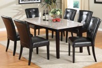20 Best Collection of Marble Dining Tables Sets | Dining ...