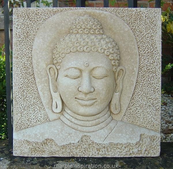 Buddha Outdoor Wall Art Listitdallas