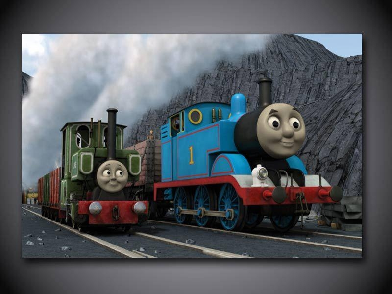 Thomas Train High Resolution Face