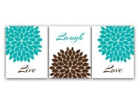 20 Best Ideas Brown and Turquoise Wall Art | Wall Art Ideas