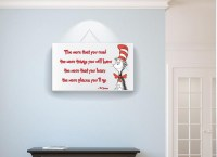 20 Inspirations Dr Seuss Canvas Wall Art | Wall Art Ideas