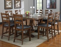 Dark Wood Square Dining Tables | Dining Room Ideas