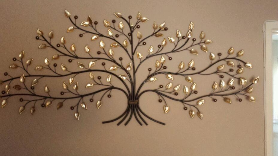 20 Best Collection Of Oak Tree Large Metal Wall Art