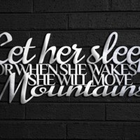 20 Collection of Metal Wall Art Quotes | Wall Art Ideas