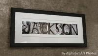 Custom Last Name Wall Art | Wall Art Ideas