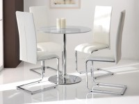 20+ Clear Glass Dining Tables and Chairs | Dining Room Ideas