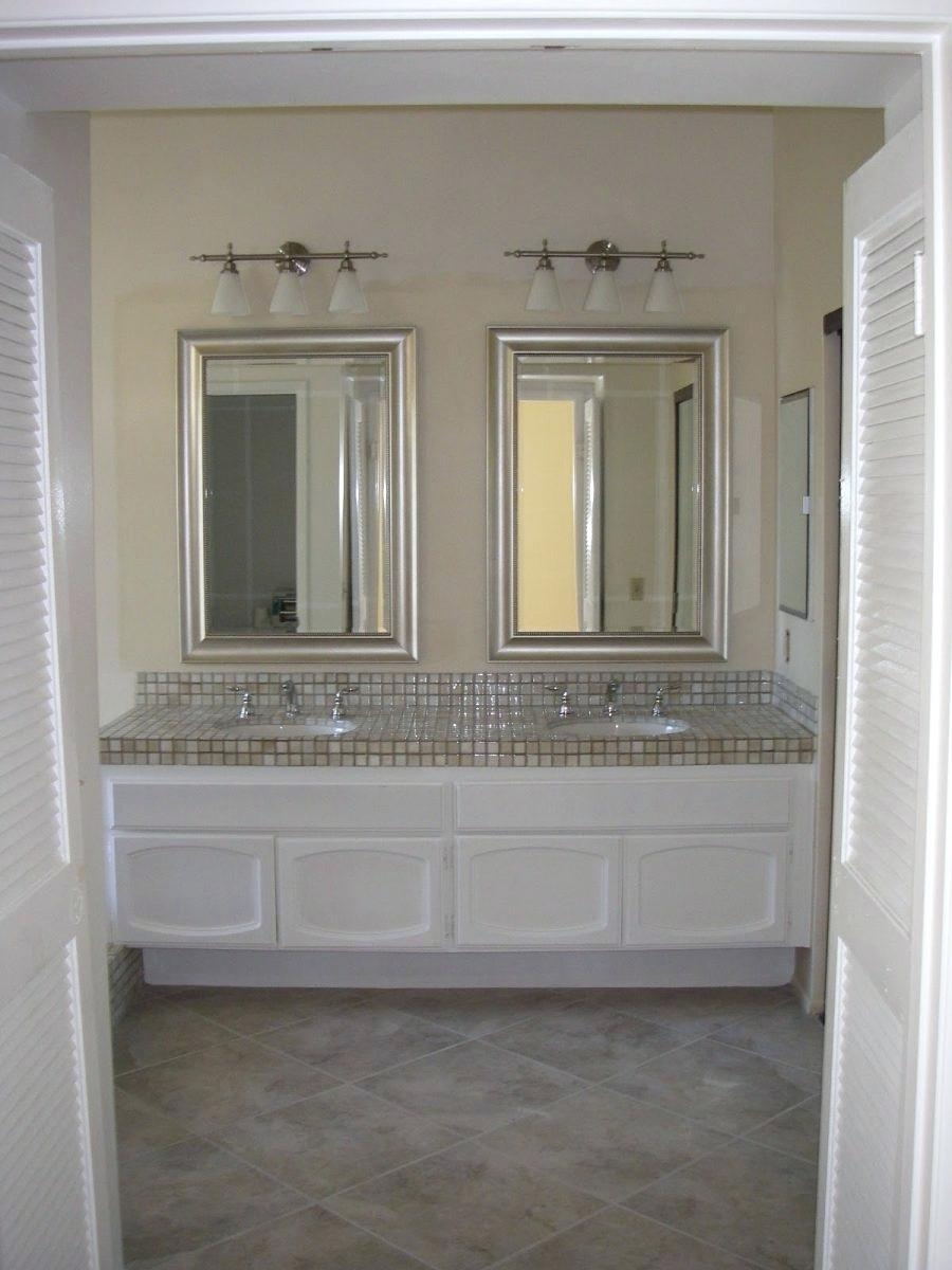 Double Vanity Bathroom Mirrors  Mirror Ideas