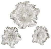 20+ Silver Metal Wall Art Flowers | Wall Art Ideas