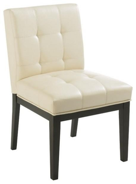Top 20 Cream Faux Leather Dining Chairs  Dining Room Ideas
