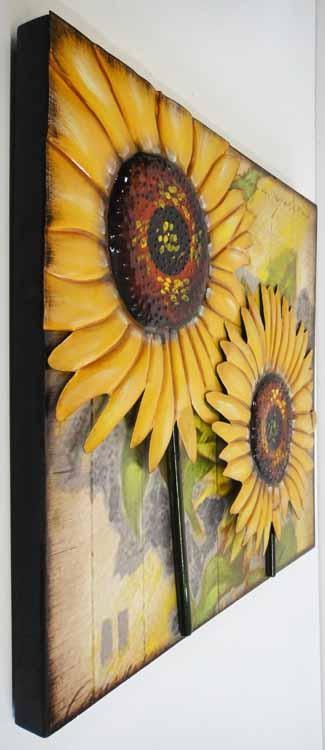 20 Best Ideas Metal Sunflower Wall Art Wall Art Ideas