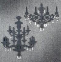 20+ Metal Chandelier Wall Art   Wall Art Ideas