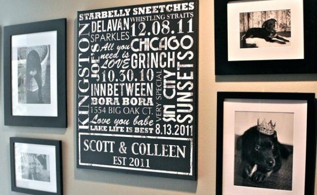 Custom Last Name Wall Art Wall Art Ideas