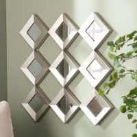 20 Best Small Diamond Shaped Mirrors