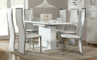 20 Inspirations Hi Gloss Dining Tables Sets | Dining Room ...