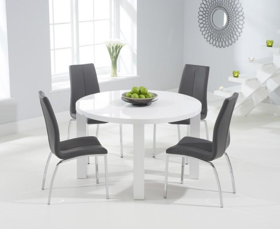 20 Best High Gloss White Dining Tables and Chairs  Dining