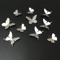 20 Inspirations White 3D Butterfly Wall Art | Wall Art Ideas