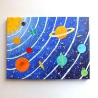 20 Inspirations 3D Solar System Wall Art Decor | Wall Art ...