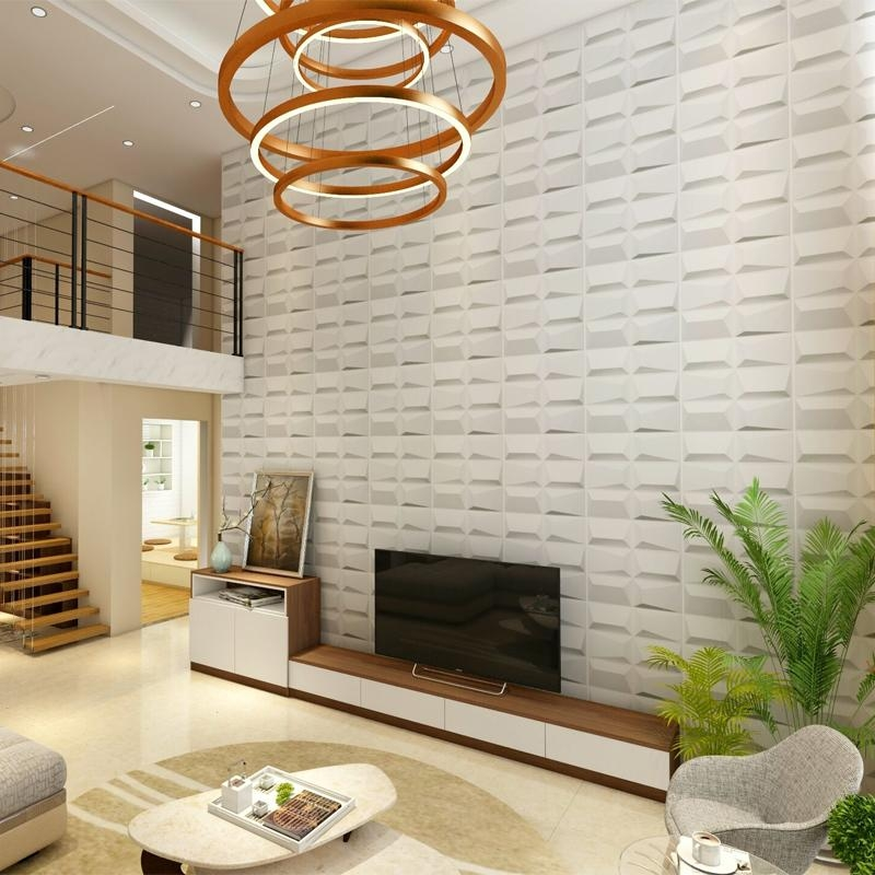 Peel And Stick 3d Wall Panels White Brick Wallpaper 20 3d Wall Covering Panels Wall Art Ideas