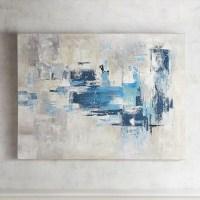 Top 20 Blue Green Abstract Wall Art | Wall Art Ideas