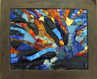 20 Collection of Abstract Mosaic Wall Art   Wall Art Ideas