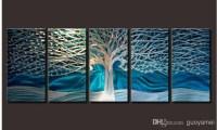 Wall Art: Abstract Metal Wall Art Painting (#4 of 20 Photos)