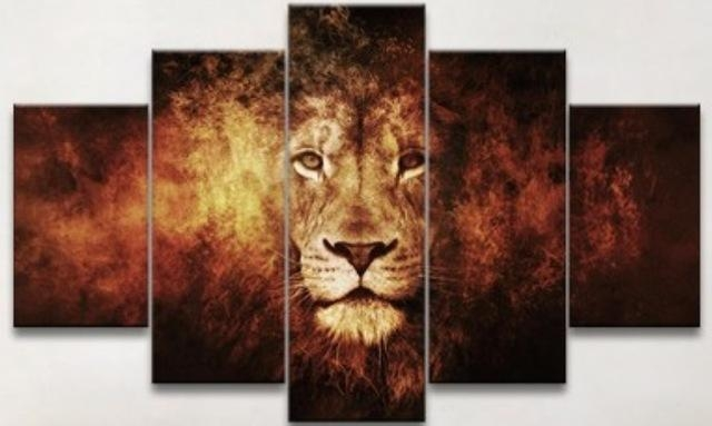20 Collection Of Lion King Canvas Wall Art