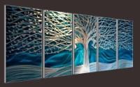 Wall Art: Abstract Metal Wall Art Painting (#9 of 20 Photos)