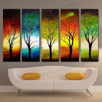 20 Collection of Abstract Nature Canvas Wall Art | Wall ...