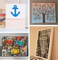 20 Ideas of Homemade Canvas Wall Art | Wall Art Ideas