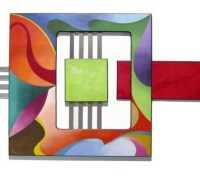 20 Collection of Geometric Modern Metal Abstract Wall Art ...