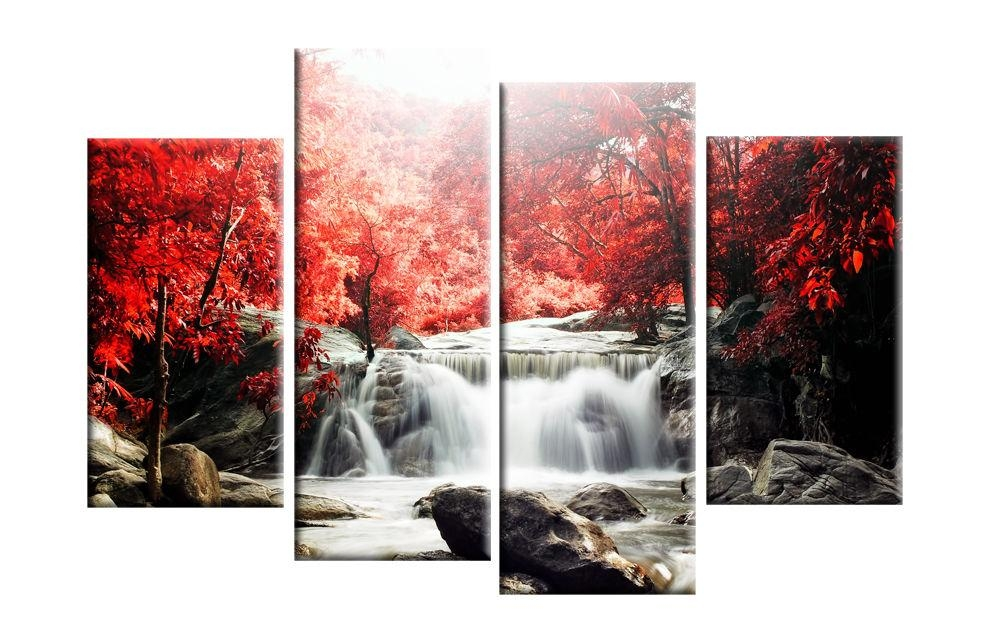 20 Collection Of Abstract Nature Canvas Wall Art