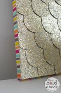 20+ Glitter Canvas Wall Art   Wall Art Ideas