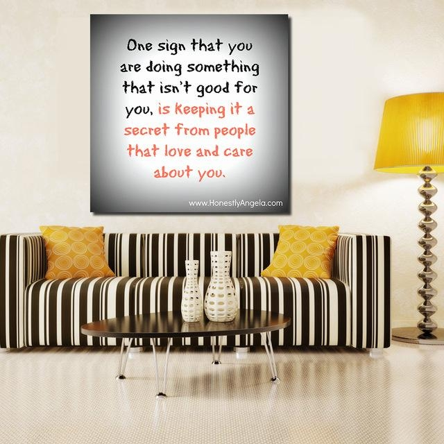 20 Best Collection of Canvas Wall Art Funny Quotes