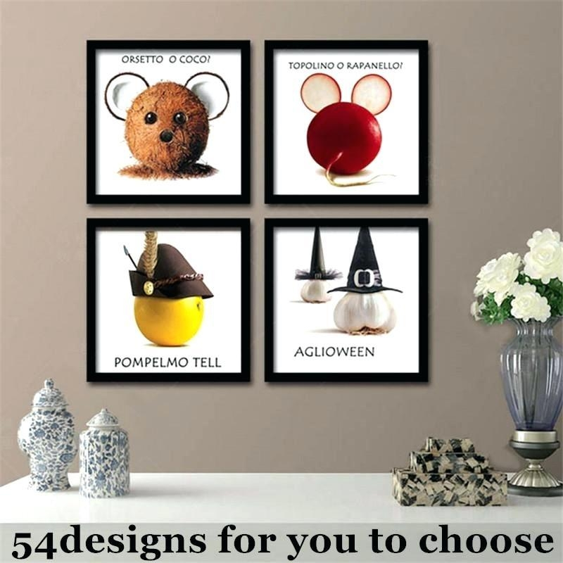20 Collection of Kitchen Canvas Wall Art