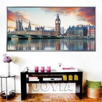 20 Photos Canvas Wall Art of London