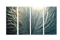 Top 20 Abstract Leaf Metal Wall Art | Wall Art Ideas