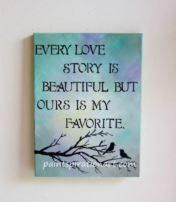 Love Quote Canvas Art Print Painting Poster Wall Pictures For Home ...