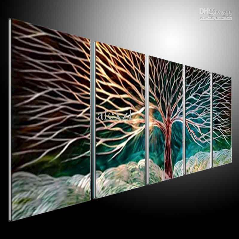 Top 20 Abstract Metal Wall Art Panels