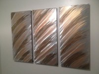 Top 20 Abstract Metal Wall Art Panels | Wall Art Ideas