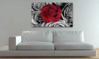 Wall Art: Roses Canvas Wall Art (#9 of 20 Photos)