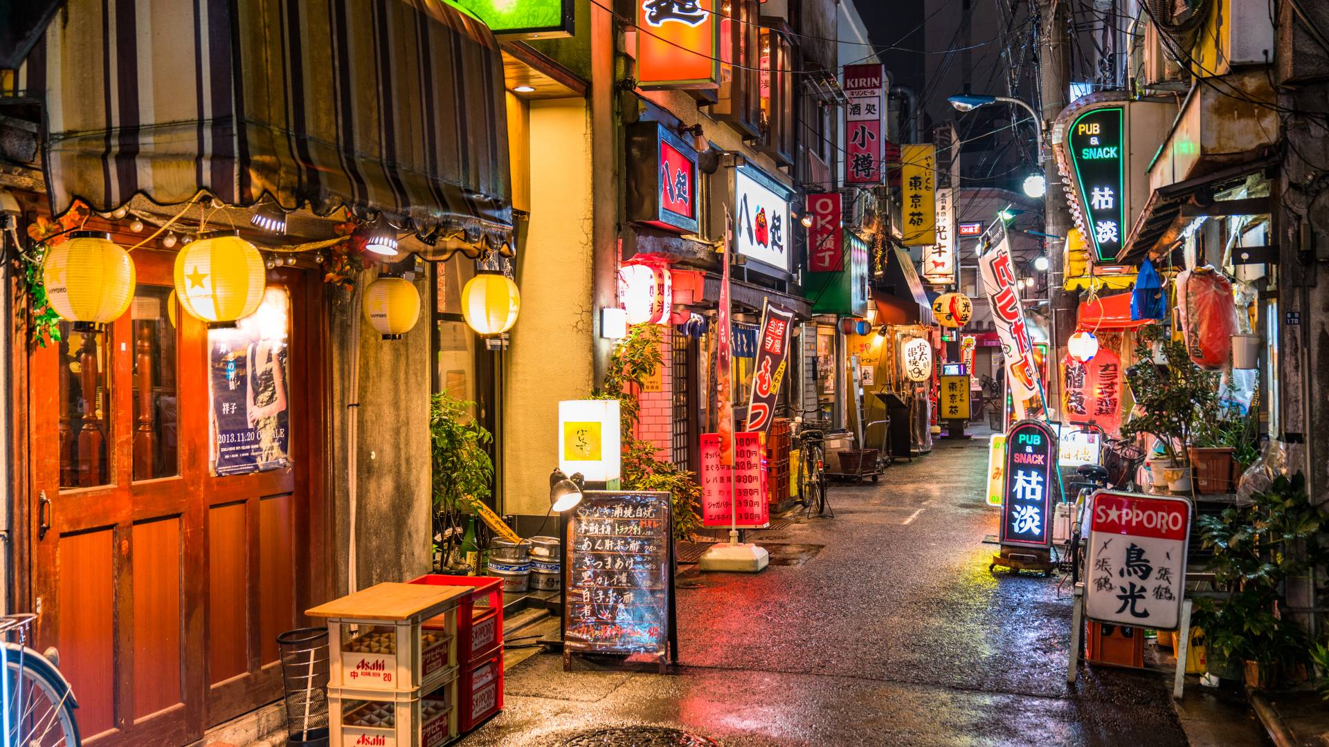 Go On A Trip Deutsch Drink And Dine Like A Local—a Guide To Exploring Yokocho