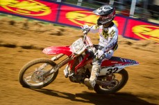 MXR2-THahn (32) finished 9th overall at Freestone (supercross.com photo)