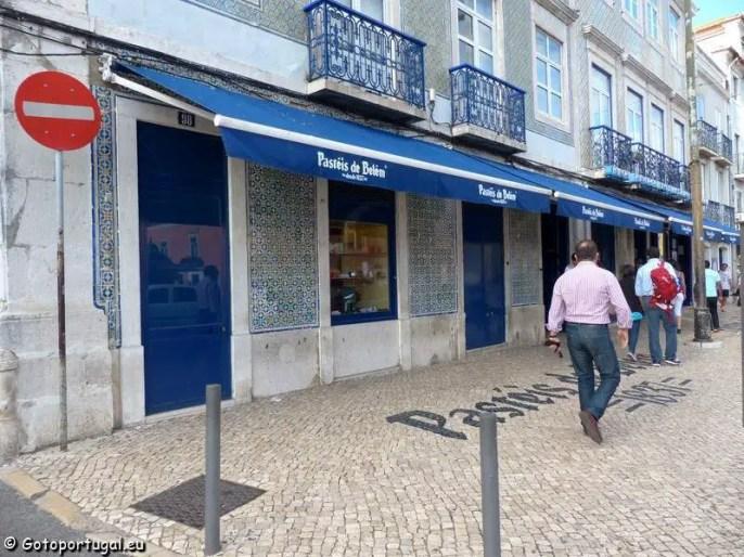 Visiter Lisbonne : pasteis de belém