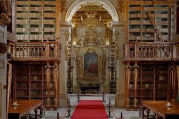 Visitar Coimbra - Biblioteca Joanina
