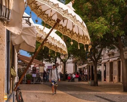 Centro historico Lagos - Algarve - Portugal