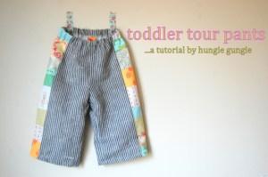 toddler pants tutorial