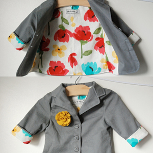 Girl Basic Blazer sewn by You & Mie